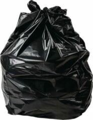 Jantex zware kwaliteit vuilniszakken zwart 100 stuks