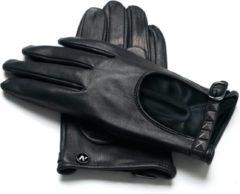 Napogloves NapoROCK Echt lederen touchscreen handschoenen | Zwart | maat M