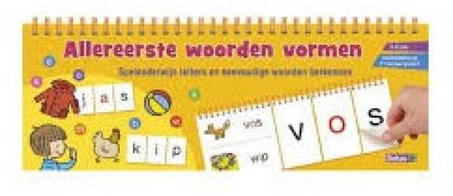 Afbeelding van Deltas educatief boek Allereerste woorden vormen 29 cm