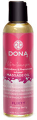Transparante Dona-by-Jo Dona Scented massage oil Flirty