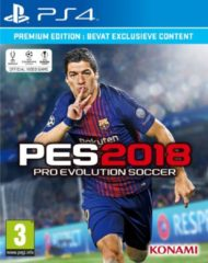 Konami Digital Entertainment Pro Evolution Soccer 2018 - Premium Edition - PS4