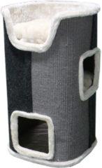Adori Krabton Javana - Krabpaal - 40x40x75 cm Wit Grijs Zwart