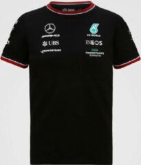 Zwarte Mercedes GP Team Kids Driver T-shirt Black-116