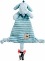 Blauwe Rainbow Designs Ltd Disney Pluche Knuffeldoek Eeyore 28 cm