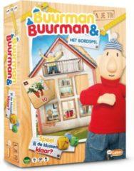 Bruine Just4Kids Bv Buurman & Buurman Het Bordspel - Kinderspel - Buurman en Buurman