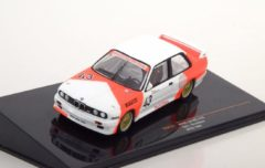 Rode BMW M3 E30 No.43, WTCC 1987 Sala/Grouillard ( Marlboro Decals ) 1-43 Ixo Models