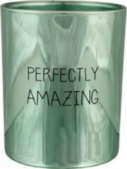 Groene My Flame Lifestyle SOJAKAARS - PERFECTLY AMAZING - GEUR: MINTY BAMBO
