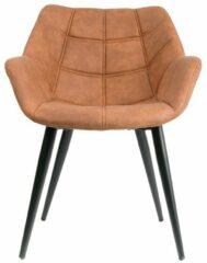 Bruine Feel Furniture - Cody stoel - Cognac