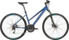 28 Zoll Damen Mountainbike 27 Gang Shockblaze... blau, 48cm