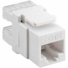 Goobay KeyStone Cat6 UTP LSA network splitter Wit