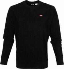 Zwarte Levi's New Original sweater met logopatch