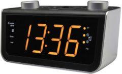 Soundmaster FUR5005 UKW PLL-Uhrenradio mit Jumbo Display und automatischer Uhrzeiteinstellung