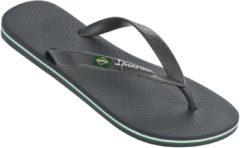 Donkergrijze Ipanema Classic Brasil slipper voor heren - dark grey - maat 47/48