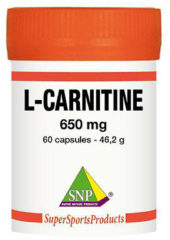 SNP L-Carnitine 650 mg puur 60 Capsules