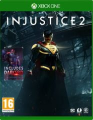 Warner Bros Injustice 2, Xbox One Basis Xbox One Engels, Italiaans video-game