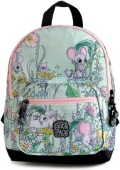 Pick & Pack Cute Mice Backpack S light blue multi Kindertas