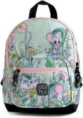 Groene Pick & Pack-Rugzakken-Mice Backpack-Blauw