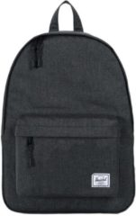 Zwarte Herschel Supply Co. Classic Rugzak black crosshatch
