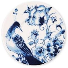 Blauwe ROYAL DELFT - Peacock Symphony - Thee-/cappuccinoschotel 15cm