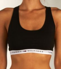 Zwarte TOMMY HILFIGER BH TOP COTTON BRALETTE ICONIC D 1387904878-BLACK-36