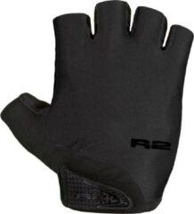 Zwarte R2 Riley Fietshandschoenen Midnight Black XL