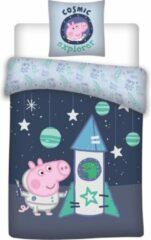 Nickelodeon dekbedovertrek Peppa Pig katoen 100 x 135 cm