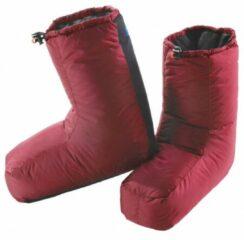 Rode Valandre - Olan - Donzen handschoenen maat S rood/roze