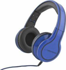 Esperanza EH136B hoofdtelefoon/headset Hoofdtelefoons Hoofdband 3,5mm-connector Blauw