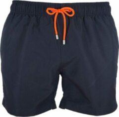 Marineblauwe Panos Emporio Karyes Zwemshort - Mannen zwembroek - Navy Blauw - Maat XL