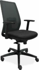 Zwarte Woonliving® Bureaustoel Ergonomische Mesh De Singel (N)EN 1335
