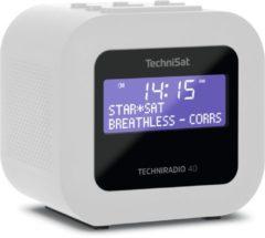 TechniSat TECHNIRADIO 40 radio Persoonlijk Digitaal Wit