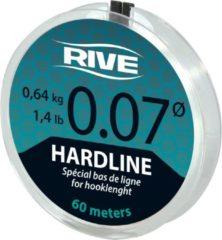 Rive Hard Line - 0.08 - 60m - Transparant - Transparant