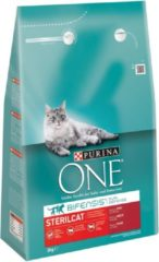 Purina One Sterilcat - Kattenvoer - Rund Granen 3 kg - Kattenvoer