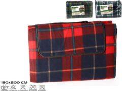 Gerimport Tratan Picknickkleed - Picknickdeken – Grote Deken - Plaid 150x200cm
