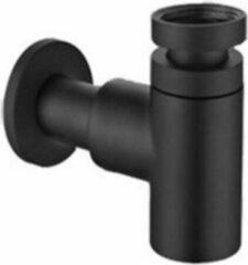 Nemo Nero design sifon mat zwart LG.55.BM