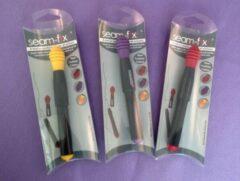 Paarse Seam Fix tornmesje met draadverwijderaar - 12 cm