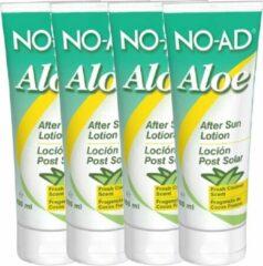 NO-AD Aloë Vera After Sun Lotion - 100 ml - 4 pak