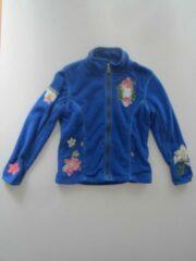 Bogner Nehle Fleece trui met borduursels - Blauw - Maat M/L / 128-134