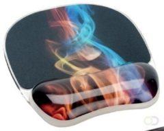 Fellowes Photo Gel muismat met polssteun, ontwerp regenboog rook