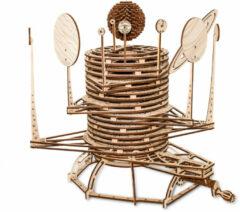 Eco-Wood-Art modelbouwpakket Planetarium 39 cm hout 534-delig