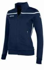 Marineblauwe Reece Varsity TTS Top FZ Ladies Sportvest Dames - Navy-White
