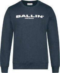 Ballin Slim fit blauw sweaters lente/zomer 2020 Unisex Sweater Maat 164