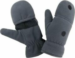 Result Grijze wanten/handschoenen voor volwassenen S/M