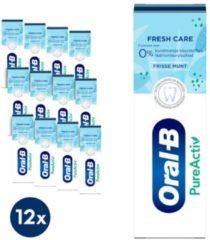 Oral-B PureActive Fresh Care - Voordeelverpakking 12x75ml - Tandpasta