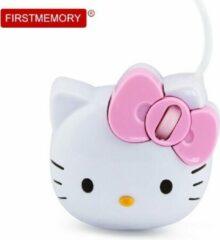 Roze Shotkings Bluestork Bumpy Hello Kitty muis USB Type-A Optisch 800 DPI