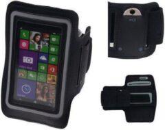 BestCases Nokia Lumia 638 Zwart Sport Armband Neopreen