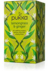 Pukka Org. Teas Lemongrass & ginger thee 20 Stuks