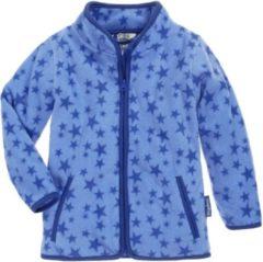 Playshoes fleece vest Stars met sterren lichtblauw/blauw
