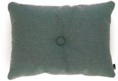 Donkergroene Hay Dot sierkussen 60 x 45 cm