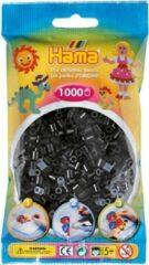 Hama strijkkralen zwart, zakje met 1.000 stuks